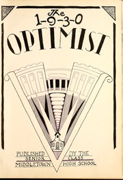 Page 5, 1930 Edition, Middletown High School - Optimist Yearbook (Middletown, OH) online yearbook collection