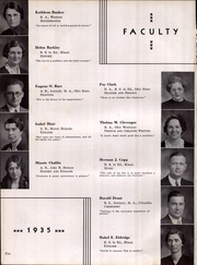 Page 14, 1935 Edition, Middletown High School - Optimist Yearbook (Middletown, OH) online yearbook collection