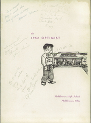 Page 5, 1952 Edition, Middletown High School - Optimist Yearbook (Middletown, OH) online yearbook collection