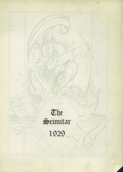 Page 5, 1929 Edition, Lorain High School - Scimitar Yearbook (Lorain, OH) online yearbook collection