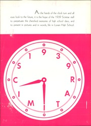 Page 7, 1939 Edition, Lorain High School - Scimitar Yearbook (Lorain, OH) online yearbook collection