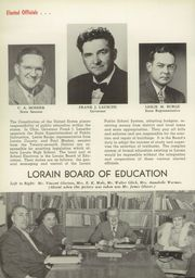 Page 14, 1952 Edition, Lorain High School - Scimitar Yearbook (Lorain, OH) online yearbook collection