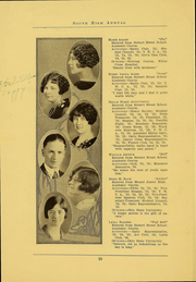 Page 12, 1926 Edition, South High School - Lens Yearbook (Columbus, OH) online yearbook collection