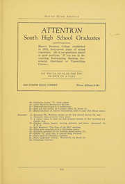 South High School - Lens Yearbook (Columbus, OH) online yearbook collection, 1926 Edition, Page 127