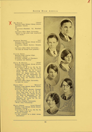 Page 13, 1926 Edition, South High School - Lens Yearbook (Columbus, OH) online yearbook collection
