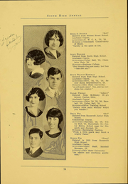 Page 16, 1926 Edition, South High School - Lens Yearbook (Columbus, OH) online yearbook collection