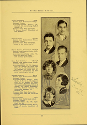 Page 17, 1926 Edition, South High School - Lens Yearbook (Columbus, OH) online yearbook collection