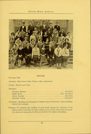 South High School - Lens Yearbook (Columbus, OH) online yearbook collection, 1926 Edition, Page 77