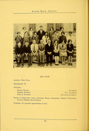 South High School - Lens Yearbook (Columbus, OH) online yearbook collection, 1926 Edition, Page 82