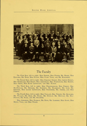 Page 9, 1926 Edition, South High School - Lens Yearbook (Columbus, OH) online yearbook collection
