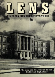 1953 Edition, South High School - Lens Yearbook (Columbus, OH)