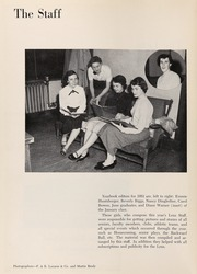 Page 6, 1953 Edition, South High School - Lens Yearbook (Columbus, OH) online yearbook collection