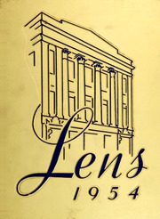 1954 Edition, South High School - Lens Yearbook (Columbus, OH)