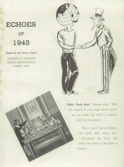 Page 5, 1945 Edition, Warren G Harding High School - Echoes Yearbook (Warren, OH) online yearbook collection