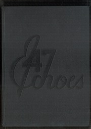 Warren G Harding High School - Echoes Yearbook (Warren, OH) online yearbook collection, 1947 Edition, Page 1