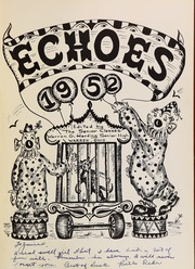 Page 5, 1952 Edition, Warren G Harding High School - Echoes Yearbook (Warren, OH) online yearbook collection
