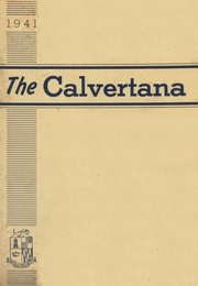 Page 1, 1941 Edition, Calvert High School - Calvertana Yearbook (Tiffin, OH) online yearbook collection
