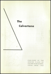 Page 5, 1942 Edition, Calvert High School - Calvertana Yearbook (Tiffin, OH) online yearbook collection