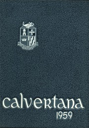 Page 1, 1959 Edition, Calvert High School - Calvertana Yearbook (Tiffin, OH) online yearbook collection