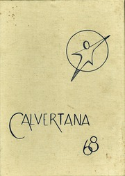 Calvert High School - Calvertana Yearbook (Tiffin, OH) online yearbook collection, 1968 Edition, Page 1