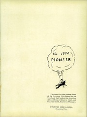 Page 5, 1950 Edition, Swanton High School - Pioneer Yearbook (Swanton, OH) online yearbook collection