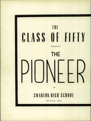 Page 6, 1950 Edition, Swanton High School - Pioneer Yearbook (Swanton, OH) online yearbook collection