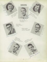 Page 17, 1952 Edition, Swanton High School - Pioneer Yearbook (Swanton, OH) online yearbook collection