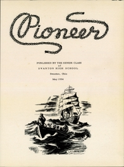 Page 3, 1954 Edition, Swanton High School - Pioneer Yearbook (Swanton, OH) online yearbook collection