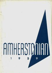 Amherst Steele High School - Amherstonian Yearbook (Amherst, OH) online yearbook collection, 1959 Edition, Page 1
