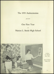 Page 8, 1959 Edition, Amherst Steele High School - Amherstonian Yearbook (Amherst, OH) online yearbook collection
