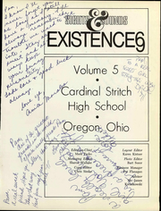 Page 7, 1969 Edition, Cardinal Stritch High School - Existence Yearbook (Oregon, OH) online yearbook collection