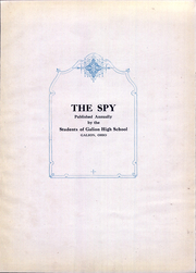 Page 7, 1924 Edition, Galion High School - Spy Yearbook (Galion, OH) online yearbook collection