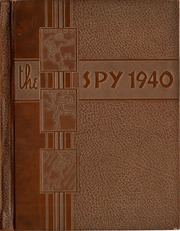Page 1, 1940 Edition, Galion High School - Spy Yearbook (Galion, OH) online yearbook collection