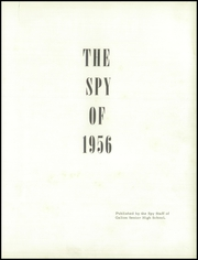 Page 5, 1956 Edition, Galion High School - Spy Yearbook (Galion, OH) online yearbook collection