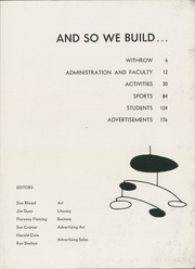 Page 9, 1955 Edition, Withrow High School - Withrow Annual Yearbook (Cincinnati, OH) online yearbook collection