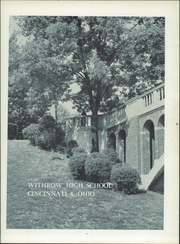Page 5, 1960 Edition, Withrow High School - Withrow Annual Yearbook (Cincinnati, OH) online yearbook collection