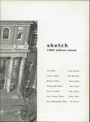 Page 7, 1960 Edition, Withrow High School - Withrow Annual Yearbook (Cincinnati, OH) online yearbook collection