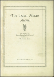 Page 5, 1924 Edition, Upper Sandusky High School - Indian Village Yearbook (Upper Sandusky, OH) online yearbook collection