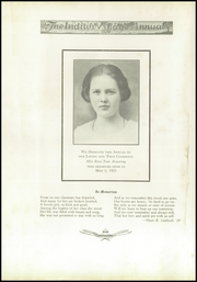 Page 8, 1924 Edition, Upper Sandusky High School - Indian Village Yearbook (Upper Sandusky, OH) online yearbook collection