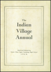 Page 5, 1928 Edition, Upper Sandusky High School - Indian Village Yearbook (Upper Sandusky, OH) online yearbook collection