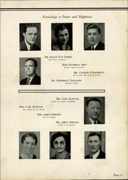 Page 13, 1937 Edition, Upper Sandusky High School - Indian Village Yearbook (Upper Sandusky, OH) online yearbook collection