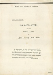 Page 9, 1937 Edition, Upper Sandusky High School - Indian Village Yearbook (Upper Sandusky, OH) online yearbook collection