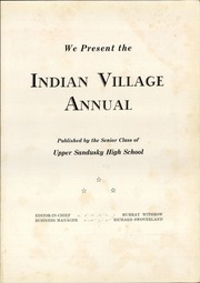 Page 5, 1941 Edition, Upper Sandusky High School - Indian Village Yearbook (Upper Sandusky, OH) online yearbook collection