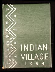 1954 Edition, Upper Sandusky High School - Indian Village Yearbook (Upper Sandusky, OH)