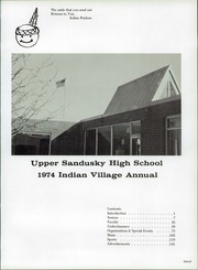 Page 5, 1974 Edition, Upper Sandusky High School - Indian Village Yearbook (Upper Sandusky, OH) online yearbook collection