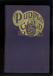 Page 1, 1921 Edition, Waite High School - Warrior Yearbook (Toledo, OH) online yearbook collection