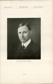 Page 15, 1921 Edition, Waite High School - Warrior Yearbook (Toledo, OH) online yearbook collection
