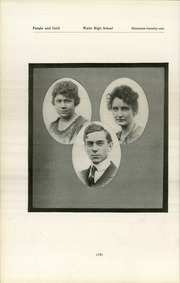 Page 22, 1921 Edition, Waite High School - Warrior Yearbook (Toledo, OH) online yearbook collection