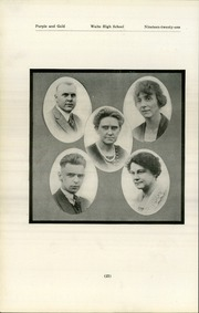 Page 26, 1921 Edition, Waite High School - Warrior Yearbook (Toledo, OH) online yearbook collection
