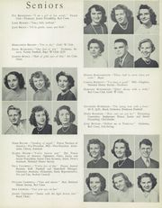 Page 17, 1949 Edition, Waite High School - Warrior Yearbook (Toledo, OH) online yearbook collection
